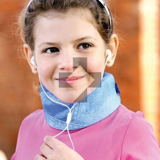Collare cervicale morbido pediatrico CLC-100K F.G.P.