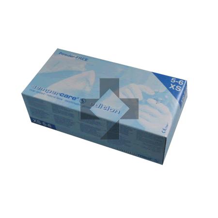 Guanti in lattice monouso senza polvere Adjutor