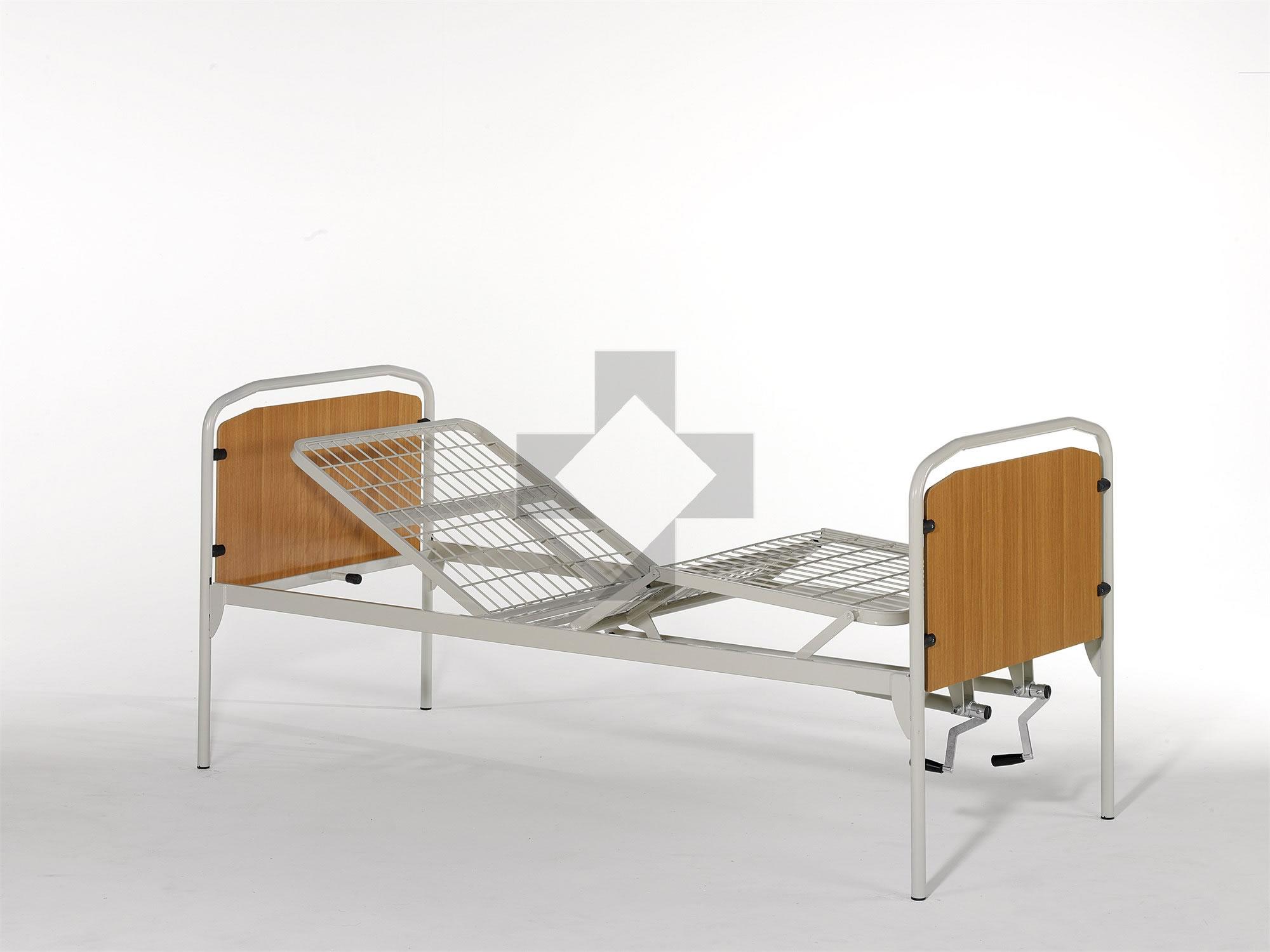 Letto ortopedico a due manovelle 10.64E Vassilli