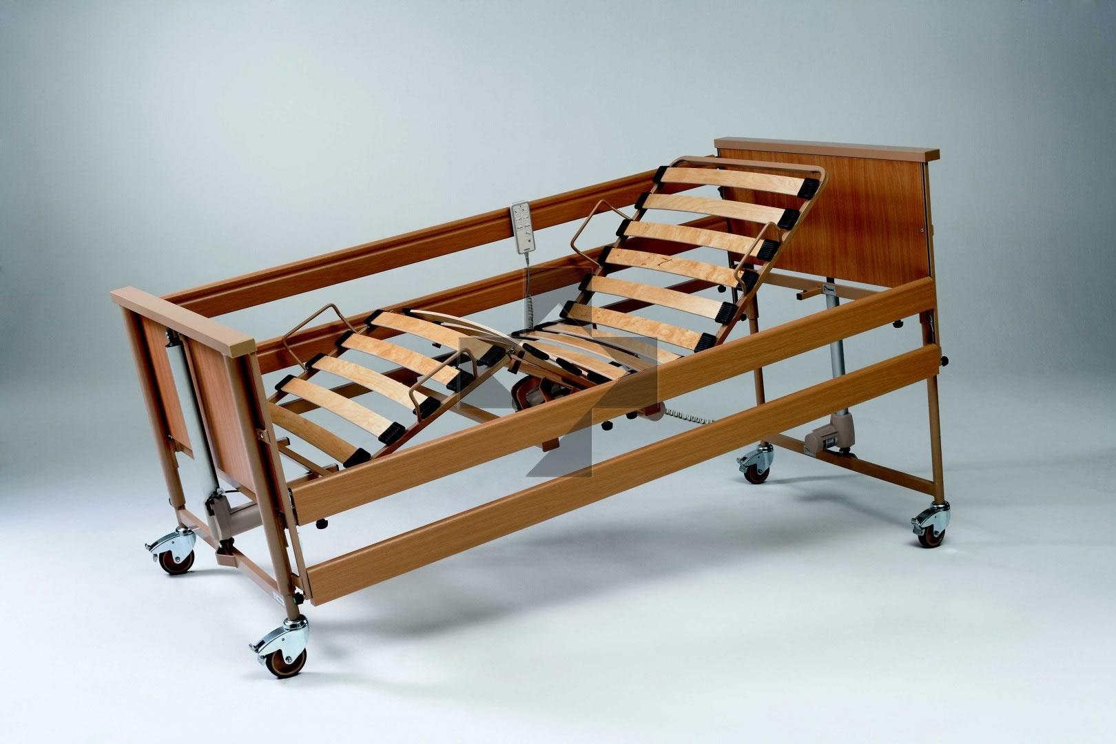 Letto ortopedico elettrico con base regolabile in altezza Dali II Eco 196812 Medimec