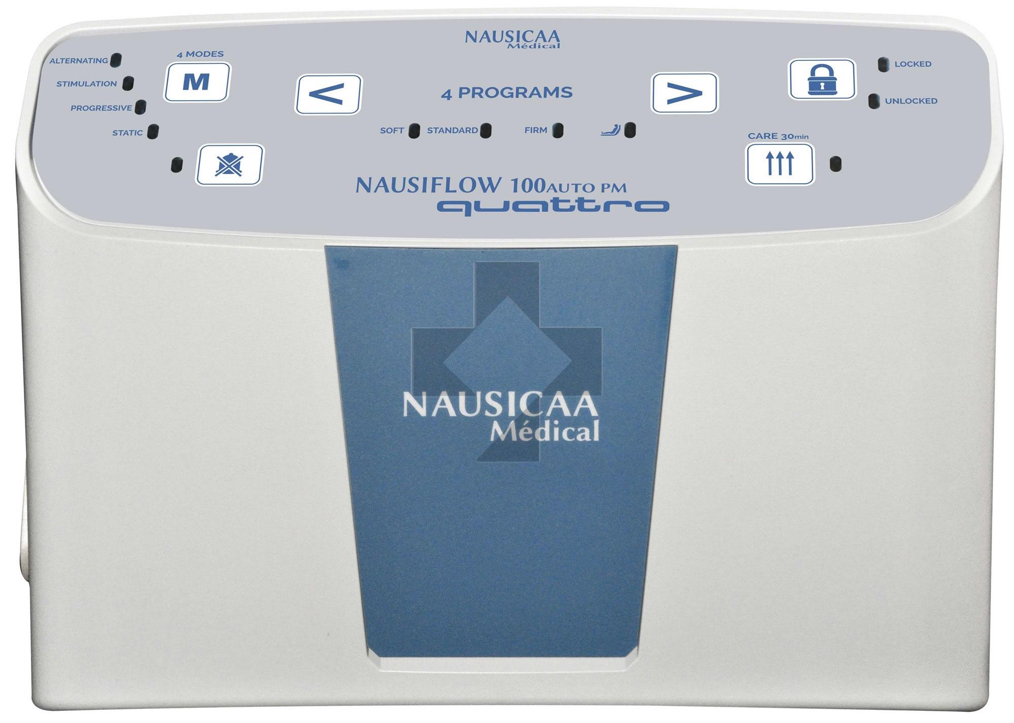 Materasso antidecubito 2-512 + compressore Nausiflow 100 Auto NA100QTO834-SYS Nausicaa Medical