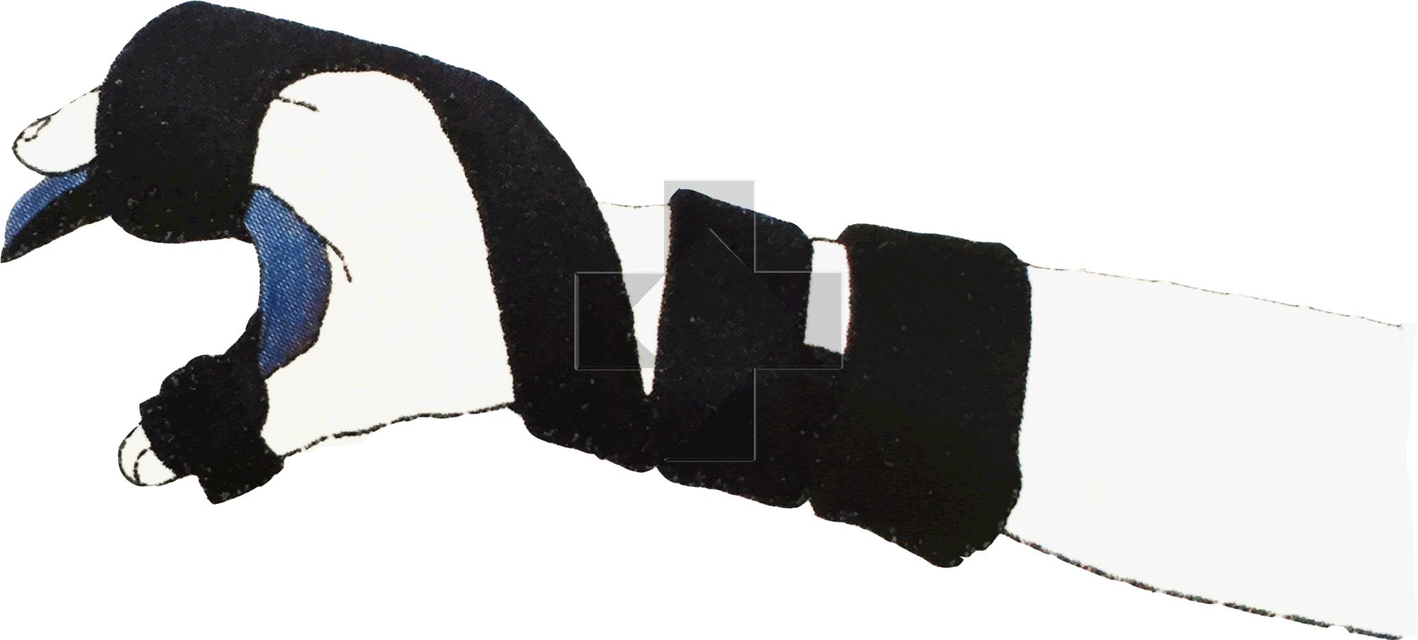 Ortesi palmare polso/dita Neuro Soft 28P50 Otto Bock