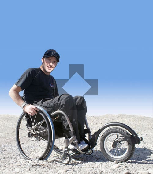 Ruotino per carrozzina FreeWheel All Mobility