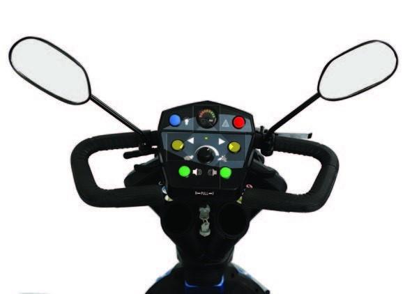 Scooter elettrico a tre ruote alte prestazioni Mobility 130 CN130 Sunrise Medical