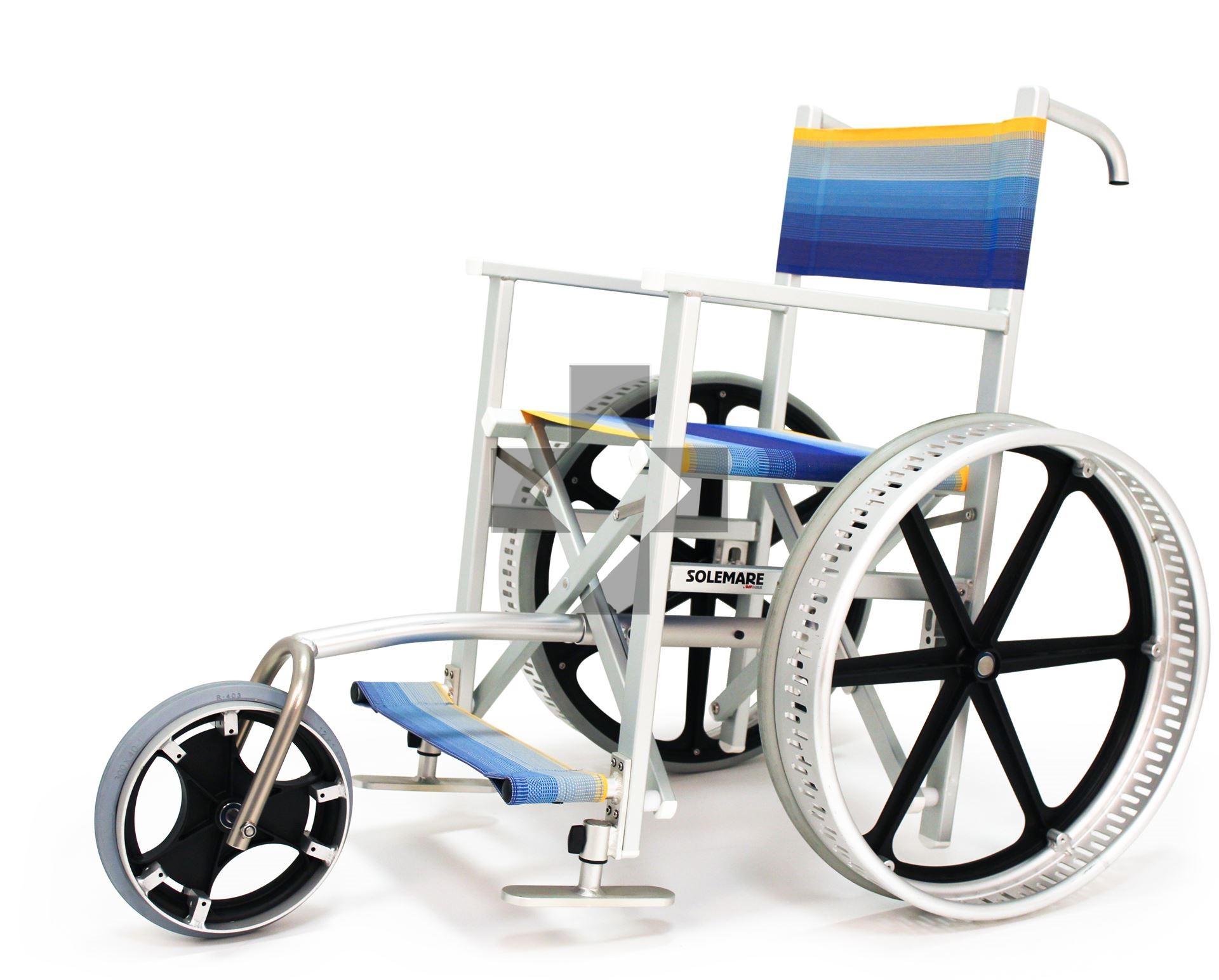 Sedia da spiaggia Solemare con ruotino Solemare 3 Adjutor