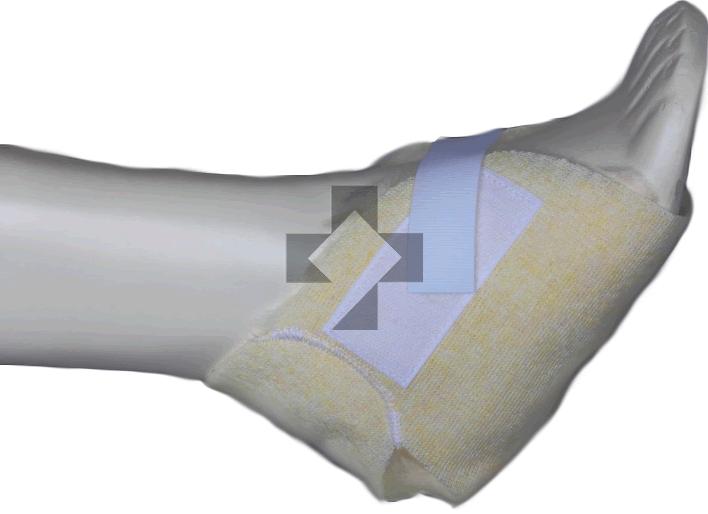 Talloniera in vello sintetico a cuffia (confezione paio) 700/T Glo