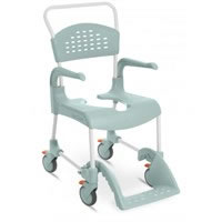 Carrozzina doccia Clean con ruote diametro 12 cm altezza seduta 55 cm 80229214 Etac