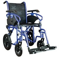Carrozzina standard da transito ruote estraibili braccioli regolabili Millenium III 155010XX Wimed