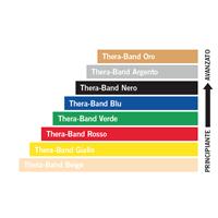 Fascia elastica per riabilitazione 5,5 mt Thera-Band