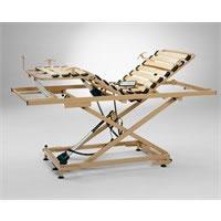 Rete ortopedica elettrica con base regolabile in altezza Lyppe IV Medimec