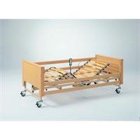 Letto ortopedico elettrico legno con base regolabile in altezza Dali Arminia Style 283947AS Medimec