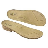 Plantare Wock Comfort Softwalk Leather Insole K60329 Kinemed