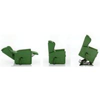 Poltrona rialzatrice/relax 2 motori con seduta memory e kit roller Emily Adjutor