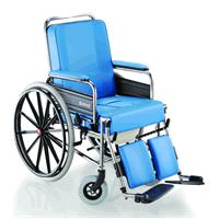 Poltrona WC con schienale e poggiagambe inclinabili ruote da autospinta 787 Grazia GRAZIA787 Surace
