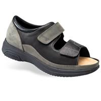 Sandalo predisposto per diabetici Caravaggio Antracite SD31818 Podartis