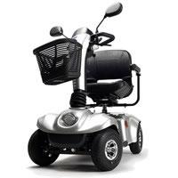 Scooter elettrico a 4 ruote Eris Vermeiren