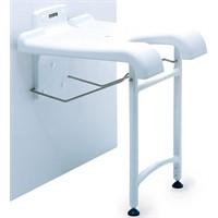 Sedia da doccia chiudibile e regolabile in altezza Sansibar 9.10.101 Invacare