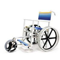 Sedia per spiaggia SoleMare con ruote Sand&Street e terza ruota anteriore SOLE3S Off Carr