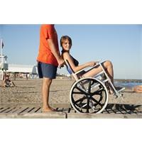 Sedia per spiaggia SoleMare con ruote mountain bike SOLE2M Off Carr