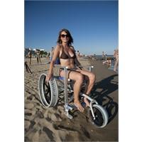Sedia per spiaggia Solemare con ruote Sand&Street SOLE2S Off Carr