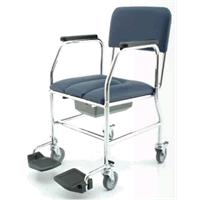 Sedia WC con ruote poggiagambe estraibili 55EW - seduta cm 43 55EWL43 PIAI Ortotech