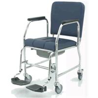Sedia WC con ruote poggiagambe estraibili 55W - seduta cm 43 55WL43 PIAI Ortotech