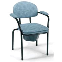 Sedia wc senza ruote con foro centrale 9062 Vermeiren